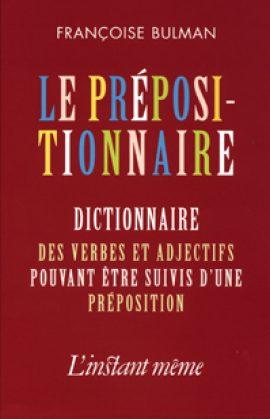 Le prépositionnaire