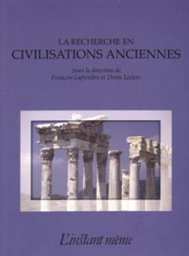 La recherche en civilisations anciennes